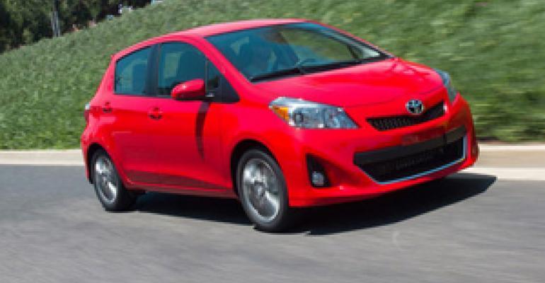 Toyota Sales Back in Black