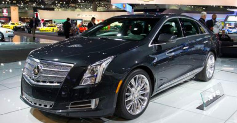New Cadillac XTS sedan powered by V6