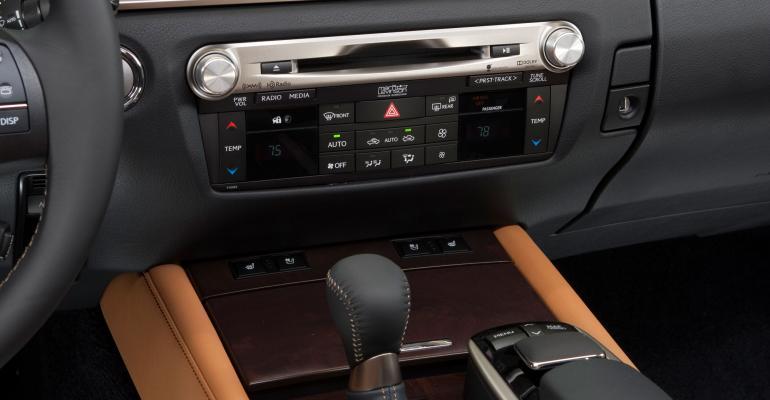 Lexus navigation systems have builtin safeguards
