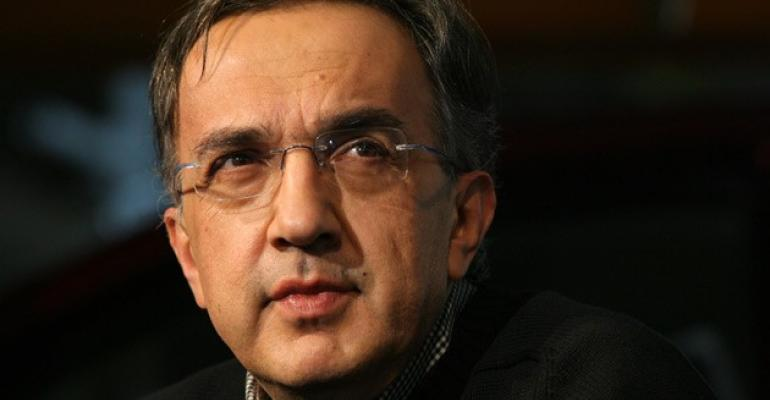 ldquoWe do product advertisinghellipand then there is an opportunity at the Super Bowl to do other thingsrdquo Marchionne says