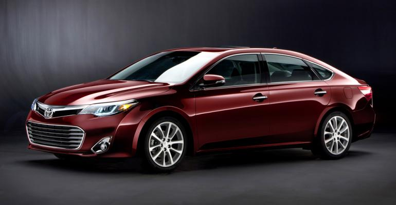 3913 Toyota Avalon on sale later this year