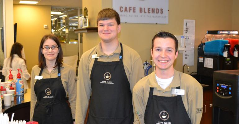 Baristas at Nalley LexusRoswell from left Rebecca Chris and Paul