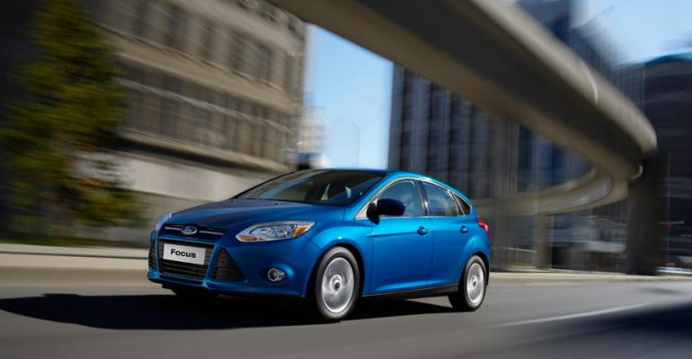 rsquo13 Ford Focus equipped with PowerShift dualclutch automatic transmission