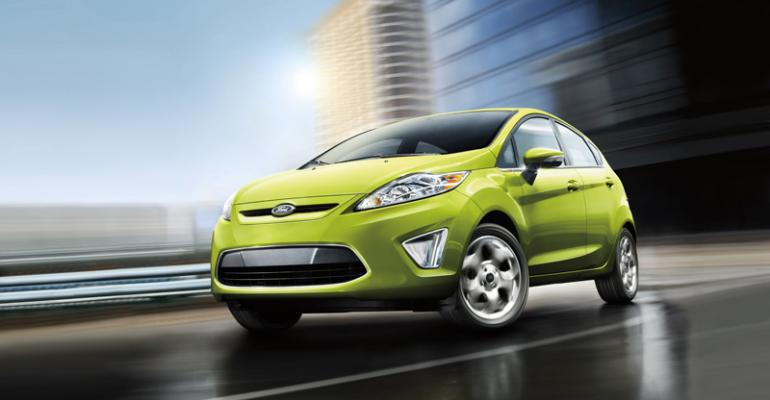 Ford counting on global products such as rsquo13 Fiesta to boost overseas sales