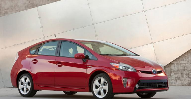 Toyota sold more than 4 million hybrids globally since Prius 1997 launch