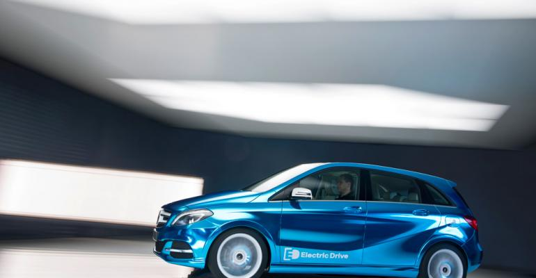 BClass Electric Drive concept to bow in Paris