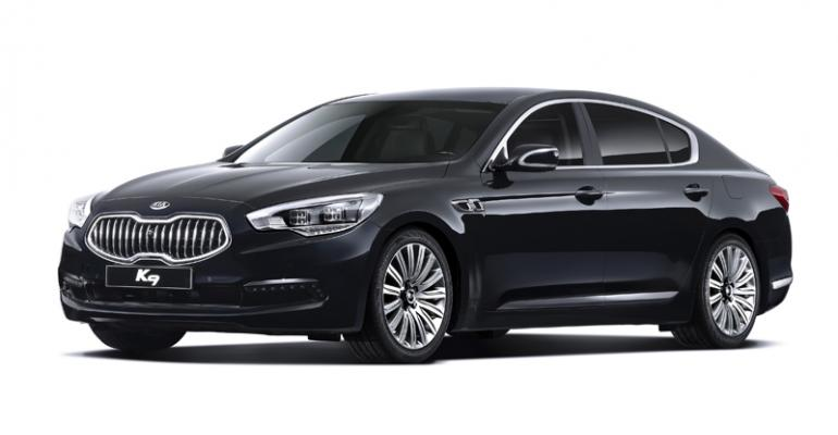 New Kia K9 luxury sedan sales bypass US Europe