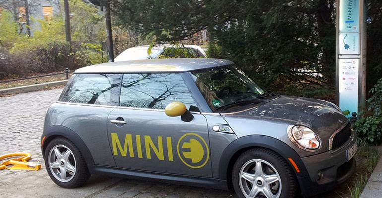 Mini electric getting recharge in Germany but canrsquot do so in France