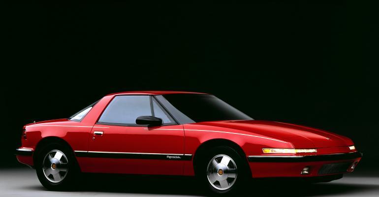 Reatta Debuts at 1988 Detroit Auto Show