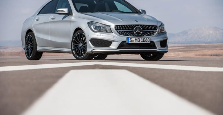 New CLA arrives in US in September