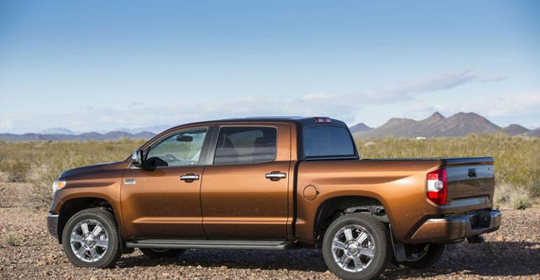 3914 Toyota Tundra on sale in fourth quarter