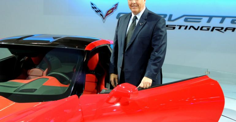 quotChevy looking at global opportunities for Corvettequot says Clark