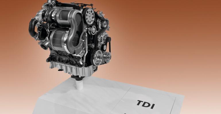 VW claims head start on diesel market in US