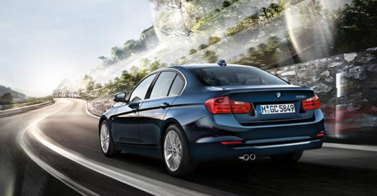 Auto maker rolling out dieselpowered 3Series in US in August