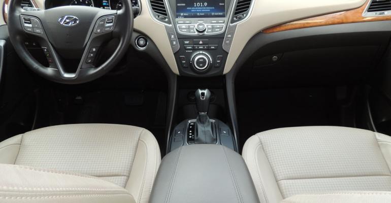Hyundai Santa Fe Sport wins with quality materials upscale design