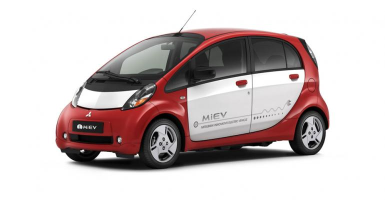 iMIEV led Q1 EV sales with 57 units 81 of nationwide total