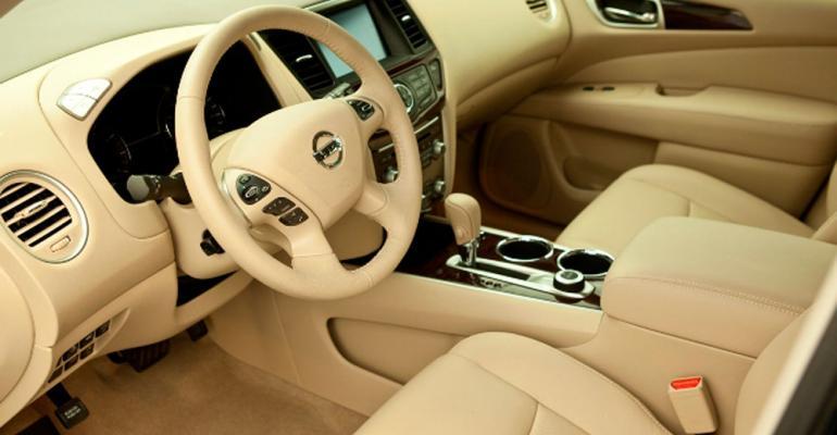 Elegance marks new CUVrsquos interior