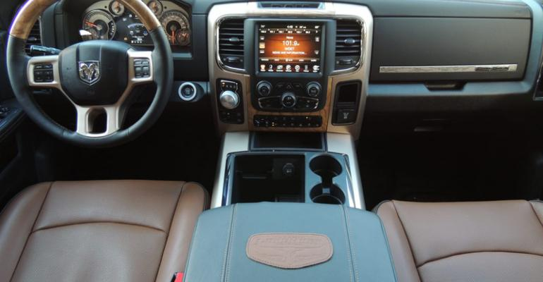 Ram 1500rsquos emotive interior sets high standard