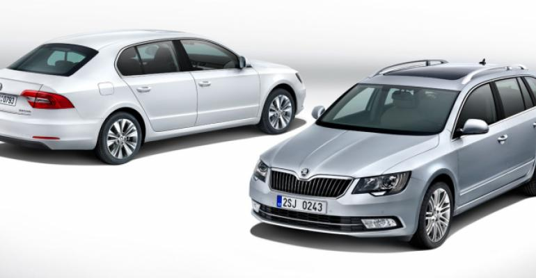 Revised Superb wagon and sedan reach European markets in June