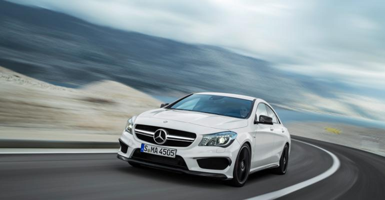 AMGversion of CLA 45 debuting this year lowestpriced AMG model at 47450
