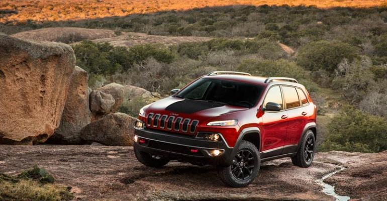 Cherokee to be offered in Sport Limited Latitude and Trailhawk trims