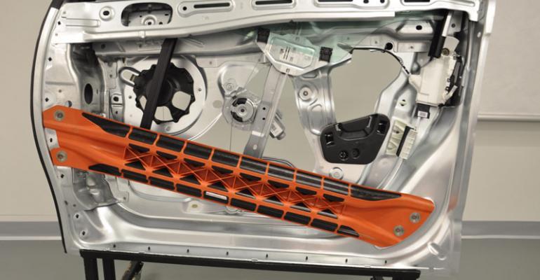 DuPont Develops Plastic Side-Impact Door Beam | WardsAuto