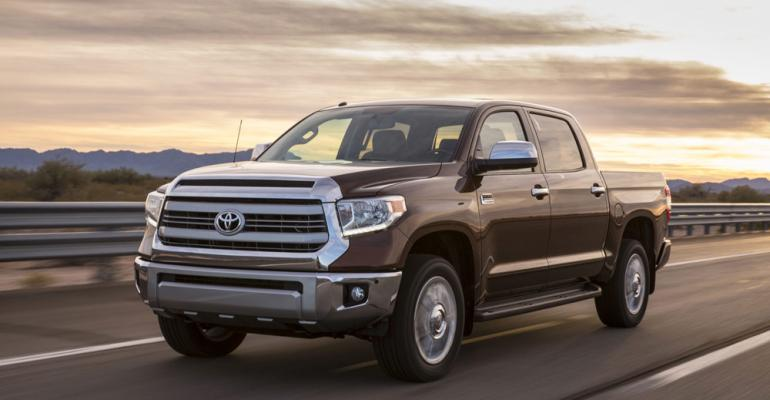 rsquo14 Toyota Tundra on sale in August