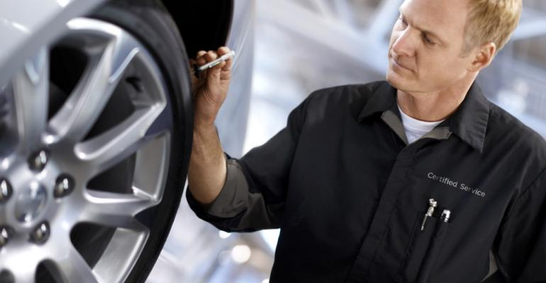 Dealership tire sales aid customer retention