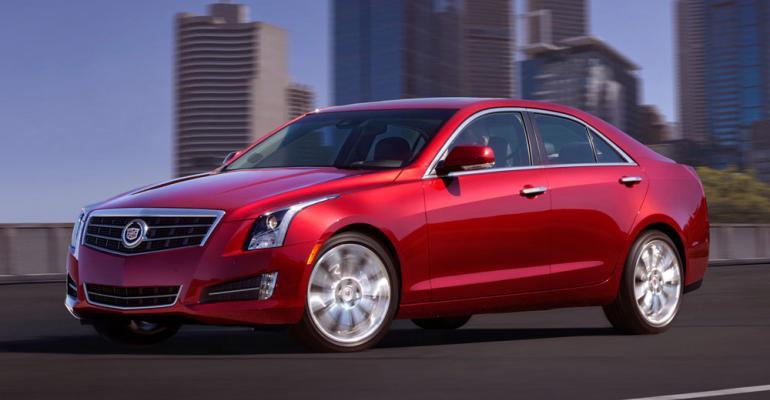 Cadillac ATS among new aluminumintensive vehicles