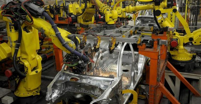 Welding key function of automotive robotics