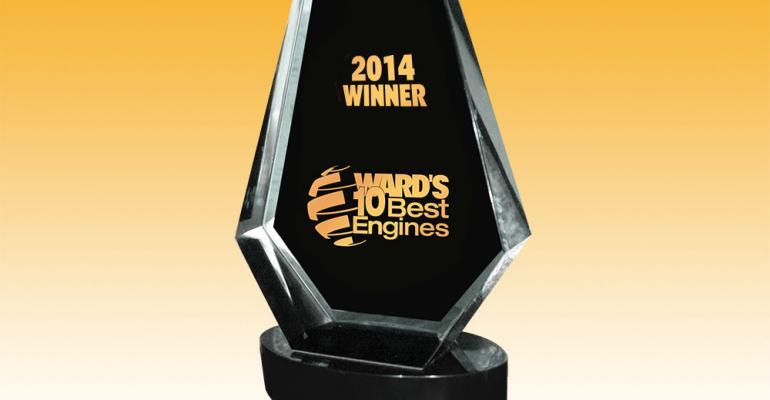 WardsAuto announced 2014 10 Best Engines winners