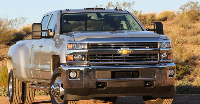 New Chevy Silverado Sierra HD pickups tell story beyond spec sheet