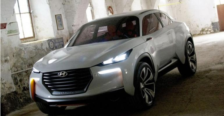 Itrado Hyundairsquos concept of QashqaiJuke competitor