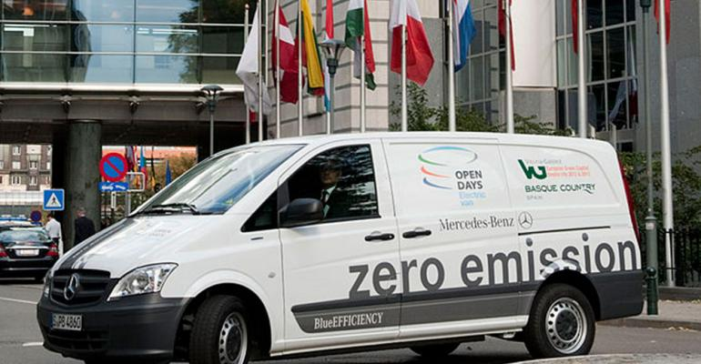 Mercedes Vito ECell eligible for government grant