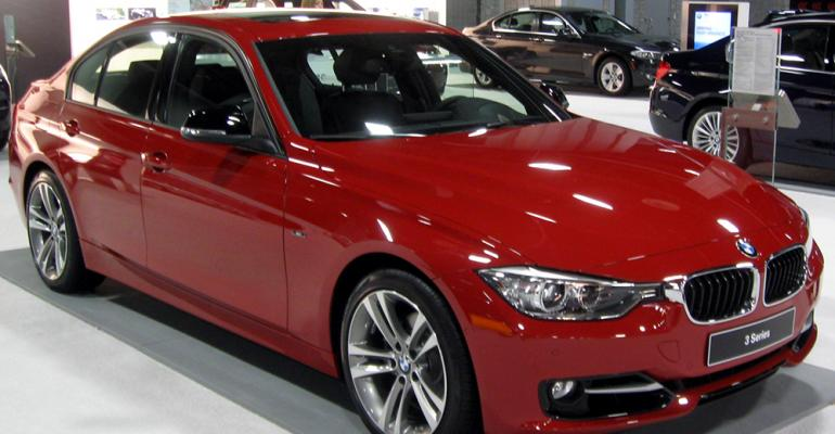 Tax hike of 64 leaves BMW 328i in showroom going nowhere fast