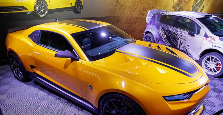 Chevrolet displays customized cars at SEMA show