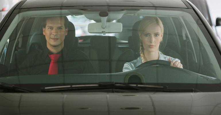 More women than men skip dealership demo drives