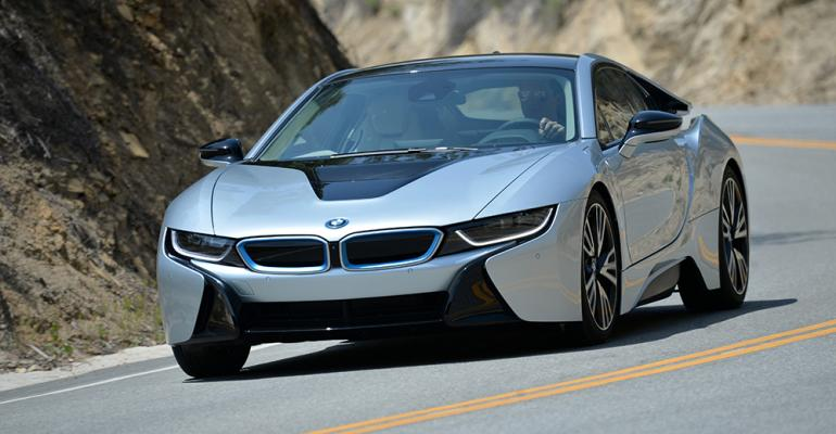 rsquo15 BMW i8 on sale in August in US