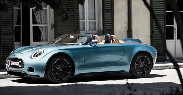 Superleggera Vision features classic roadster lines modern powertrain