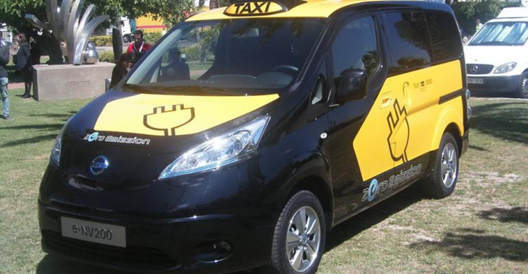 City of Barcelona to promote use of Nissan EV in taxi fleet