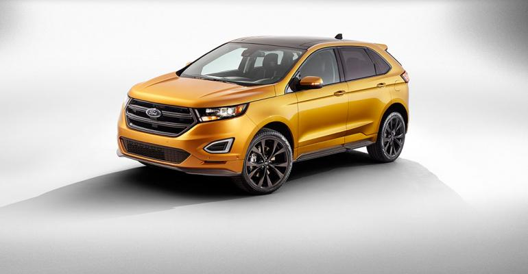 Allnew Edge Available With Two Ecoboost Engines One Normally Aspirated Mill