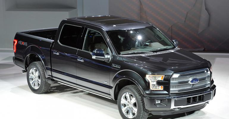 Industrysponsored study predicts competitors to follow rsquo15 F150rsquos lead into aluminum