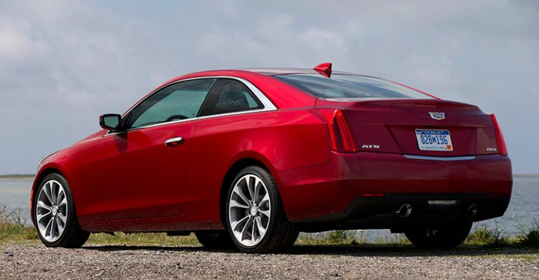Cadillac ATS coupe on sale late August in US