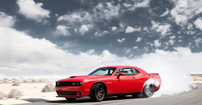 Hellcat burns out