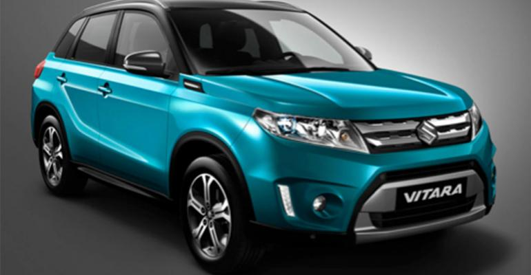 New Vitara said to rely heavily on lightweight aluminum for platform