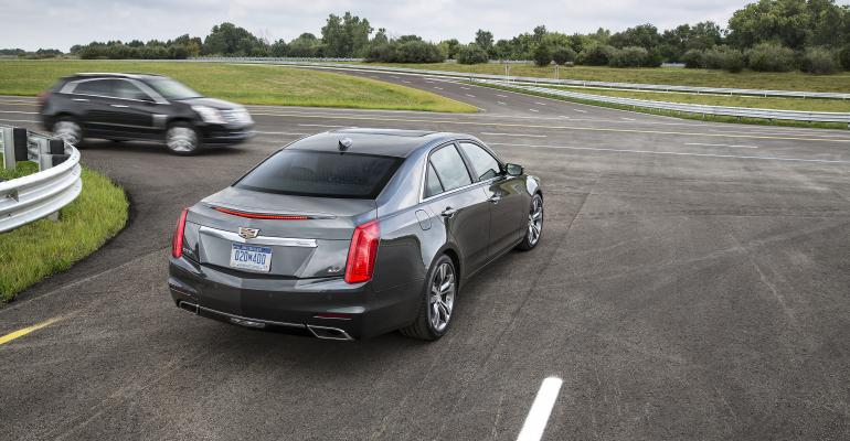 Cadillac CTS to get V2V technology