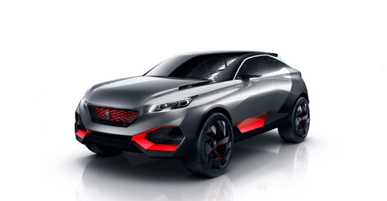 Peugeot concept bears racing influences