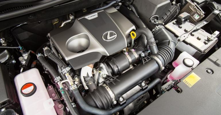 Toyotarsquos new 20L turbo makes 235 hp and 258 lbft of torque while delivering 2228 mpg