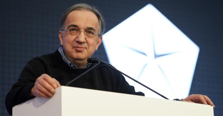 Marchionne still sees overcapacity as major problem in Europe