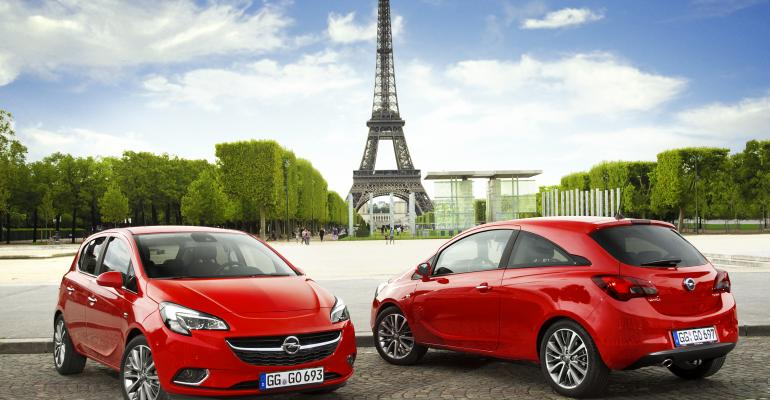 Fifthgeneration Opel Corsa bows in Paris